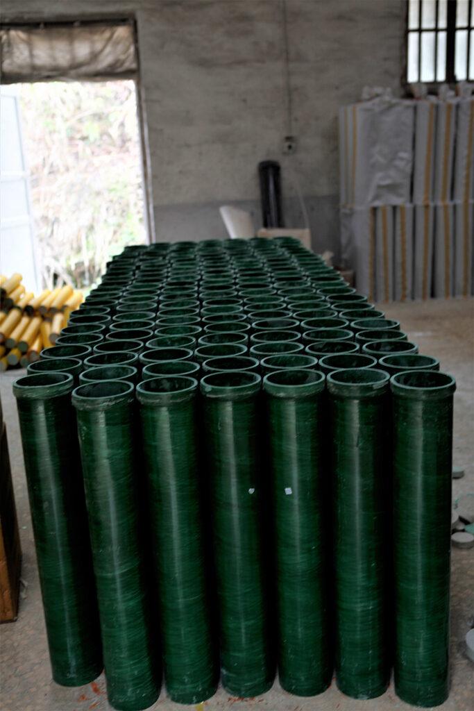 Mortar tubes for firework shells
