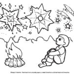 Childrens Firework Colouring Pages bonfire night image three by ghengis fireworks