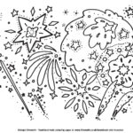 Childrens Firework Colouring Pages image six by ghengis fireworks