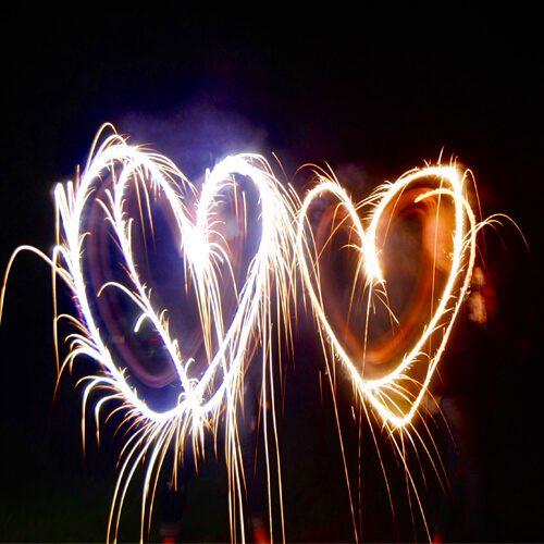 valentines day fireworks