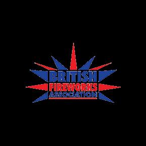 Fireworks organisation logo for the british fireworks association