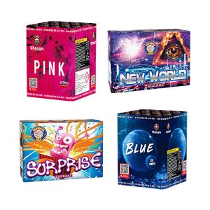Gender Reveal Fireworks are designed for Gender reveal parties, we have our own unique blue fireworks and pink fireworks made especialy for you