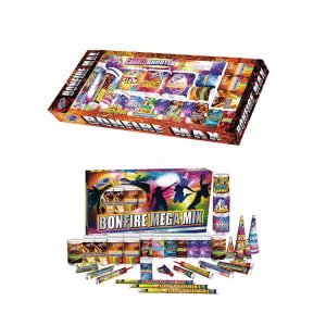 firework selection boxes for small garden firework parties, great for the whole family.