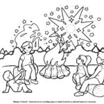 Childrens Firework Colouring Pages bonfire night image five by ghengis fireworks