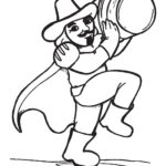 Childrens Firework Colouring Pages guy fawkes image one by ghengis fireworks