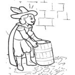 Childrens Firework Colouring Pages guy fawkes image two by ghengis fireworks