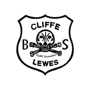 bonfire society logo for cliffe lewes