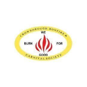 bonfire society logo for crowborough