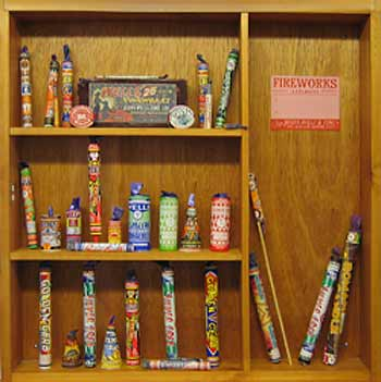 learn all about old fireworks that are on display in this museum