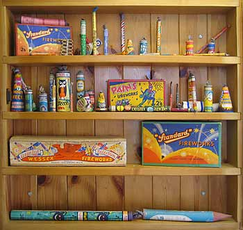 relive your past with old fireworks displayed in this fantastic case