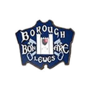 bonfire society logo for lewes