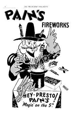 relive your past at fireworks.co.uk with old firework advertisements.