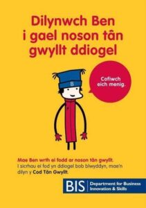 BIS Safety leaflet for children in welsh