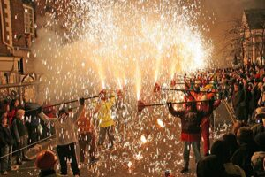Fireworks history learn about the assembly of the cosh with ghengis fireworks