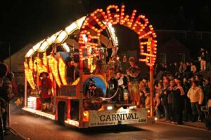 read about the history of firework carnivals at ghengis fireworks