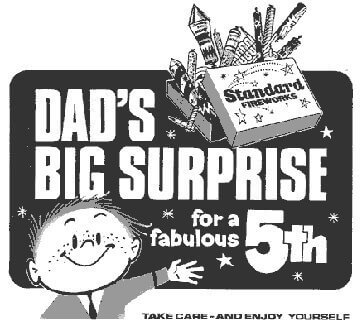 do you remember these old fireworks adverts?