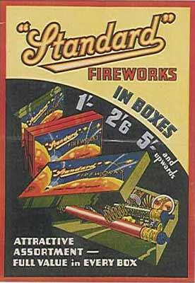 old firework advertising