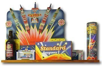Fireworks YesterYear, old fireworks products from standard and wells