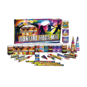 Bonfire Mega Mix 33 piece selection box perfect for familys