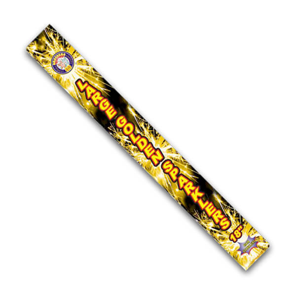 "large sparkler pack of 5x 18"" gold sparklers for weddings and celebrations, Large sparklers are great for weddings"