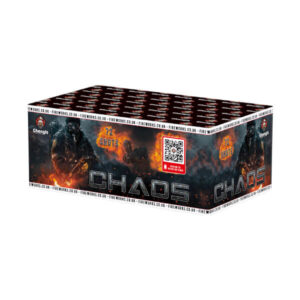 chaos is a huge 72 multi shot firework by ghengis