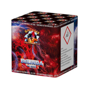 25 shot small garden firework very colourful
