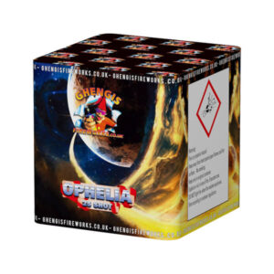 small single ignition garden firework 25 shots