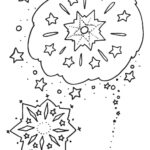 Childrens Firework Colouring Pages image four by ghengis fireworks